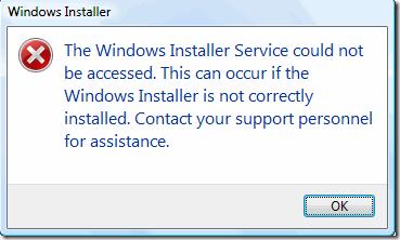 Отказ установщика Windows в безопасном режиме