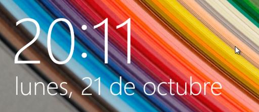 Пример даты на испанском