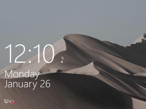 lock screen Windows 10