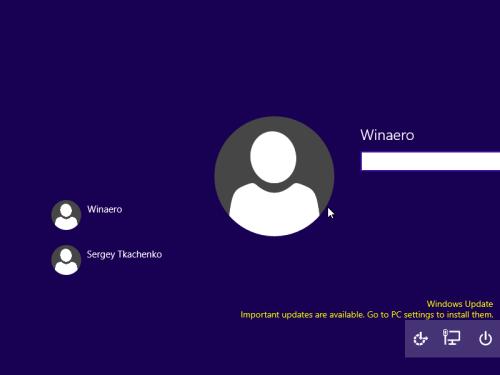 новый экран входа Windows 10