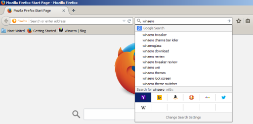 Firefox engine 2