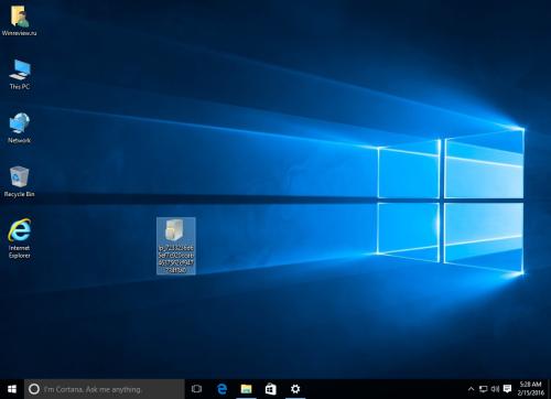 Windows 10 russian LP
