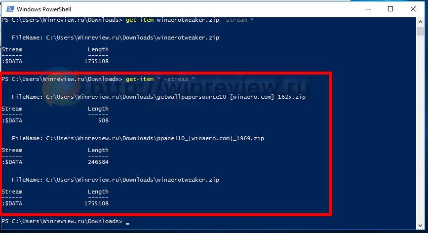 Windows 10 unblocked files