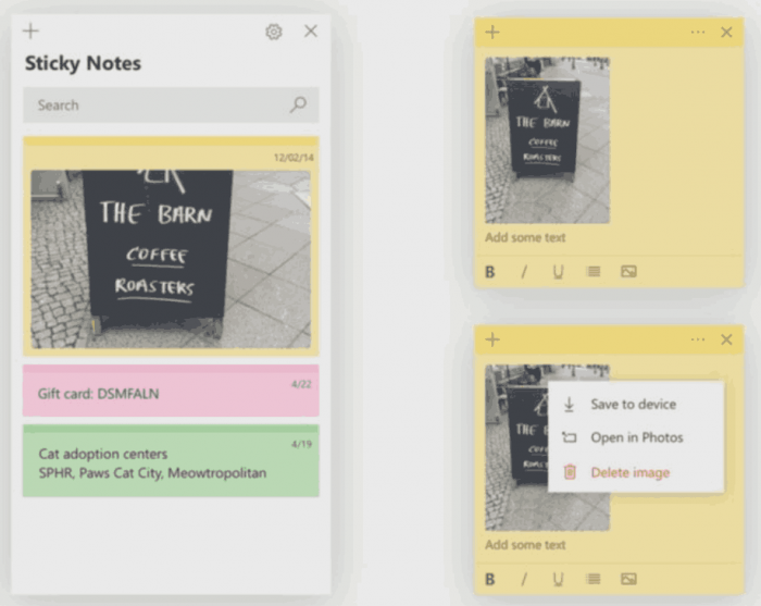 Sticky Notes With Images Windows 10
