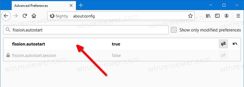 включить функцию Изоляция сайта в Firefox