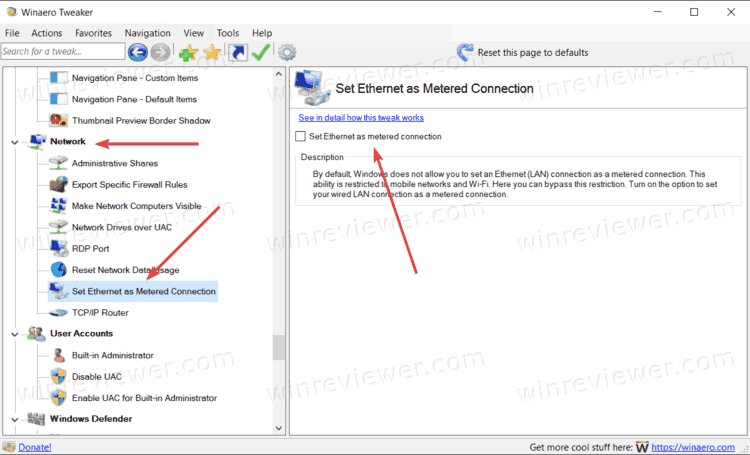 Make Connection Limited In Windows 10 1