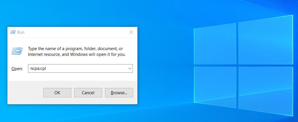 Окно Выполнить не сохраняет историю команд в Windows 10