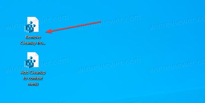 Удалить пункт «Очистить» из меню диска в Проводнике