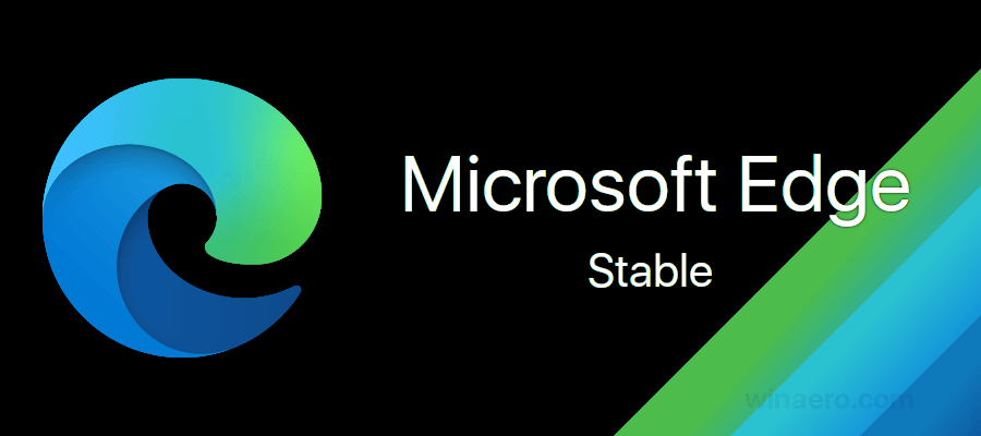 Microsoft Edge – стабильная версия