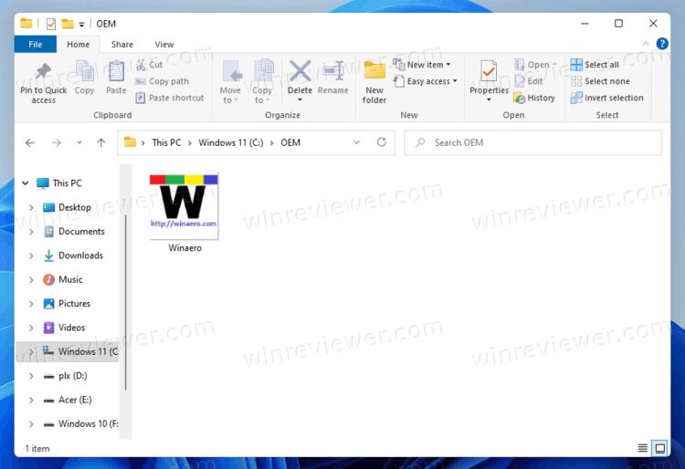 Windows 11 восстановить классический Проводник с лентой