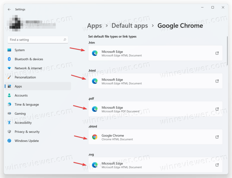 Установите этот браузер для каждого типа файла