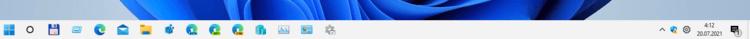 классическая панель задач в Windows 11