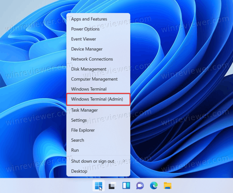 Open Windows Terminal As AdminТерминал Windows от имени администратора