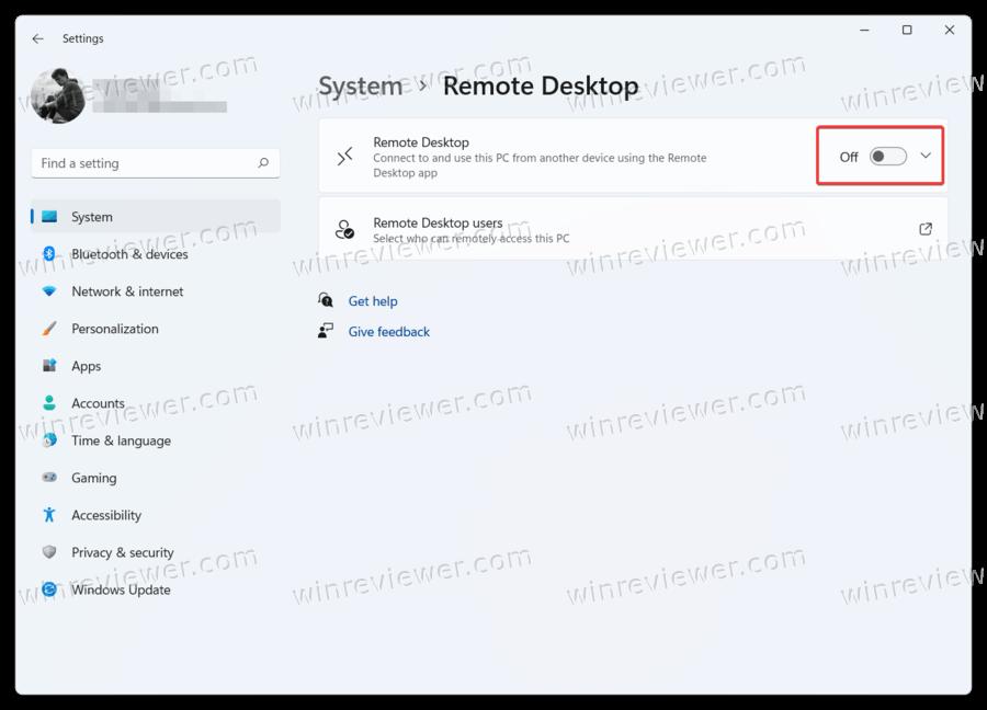 Windows 11 включить удаленный рабочий стол
